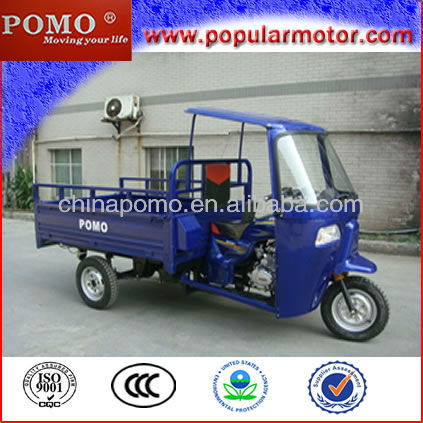 New Cheap 250cc Gasoline Motorized Cargo Three Wheel Motorcycle