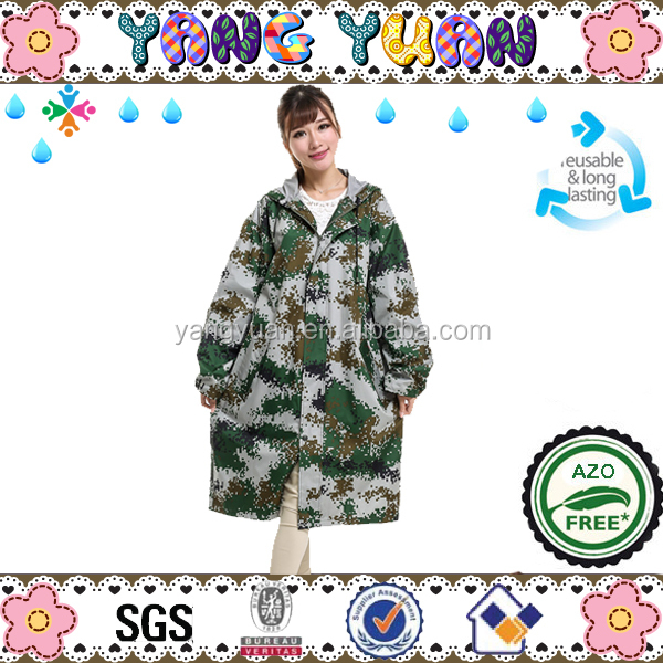 Waterproof Camouflage Raincoats Rainwear