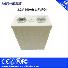 solar battery 3.2V 100Ah lifepo4 energy battery factory wholesale