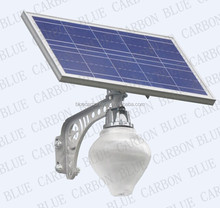 easy install lamp 10w led solar courtyard light