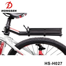Portable Aluminum Alloy Bicycle Rear Rack Bike Cargo Luggage Rear Flat Carrier