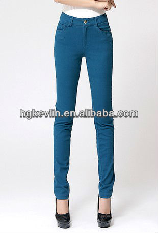 Ex-works summer 2013 new style women latest design jeans