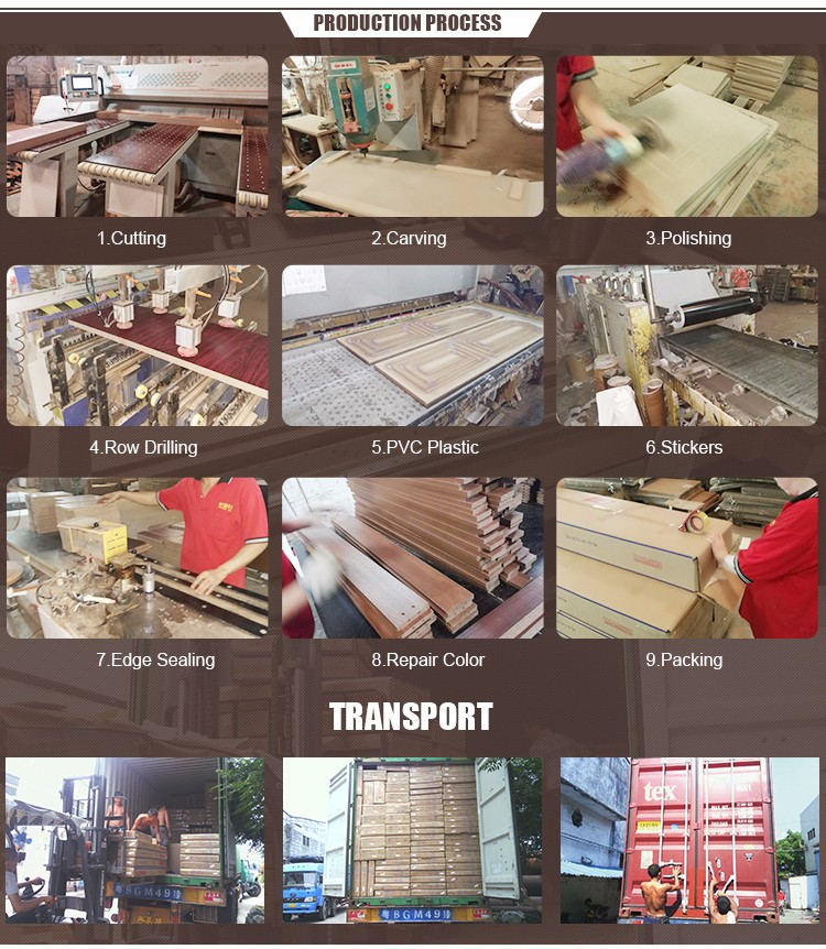 Foshan furniture factory hot selling high quality mdf bed room furniture bedroom set