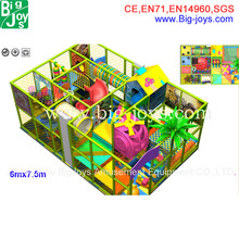 Indoor Playground Type and Plastic Playground Material children play house