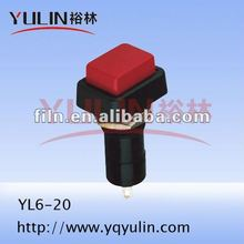 electrical wiring emergency push button lock switch YL6-20