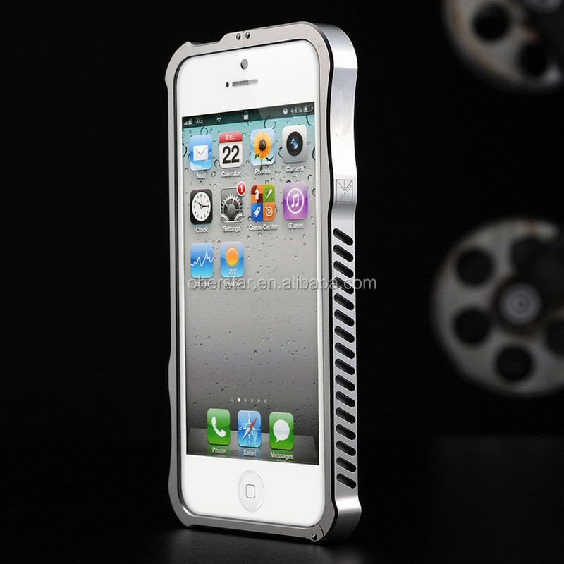 Newest Original iMatch Luxury Steel Metal Bumper case for iPhone 5S Metallic Frame