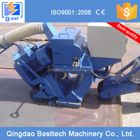 100% new small granite polishing shot blasting machine