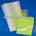 Chinese Gusseting Flat bottom clear plastic bags/flat poly bags