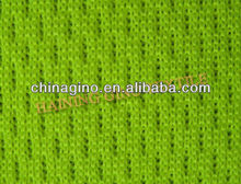 100% Polyester Bright Green Mesh Fabric