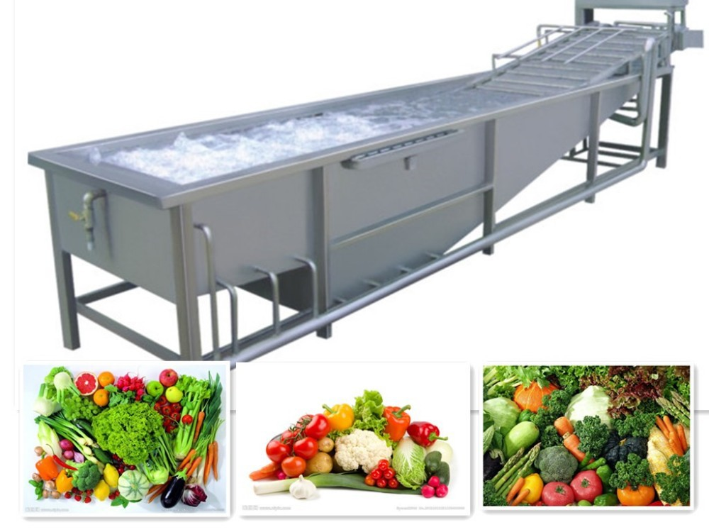 High Efficiency Leafy Vegetable Washer/Air Bubble Washer Machine