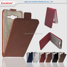 up down flip leather mobile phone cover for sony xperia z e 1 2 dual case