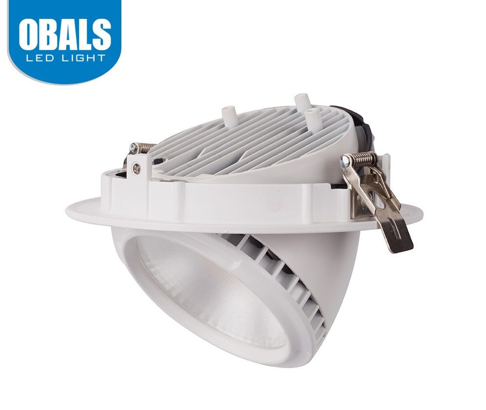 Obals cheap flat round face led downlight 28w bulk buy from china halogen waterproof downlight