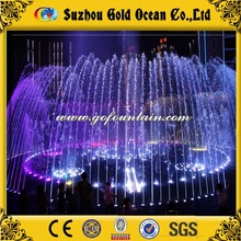 New fashion outdoor musical garden water fountain built in the lake or river