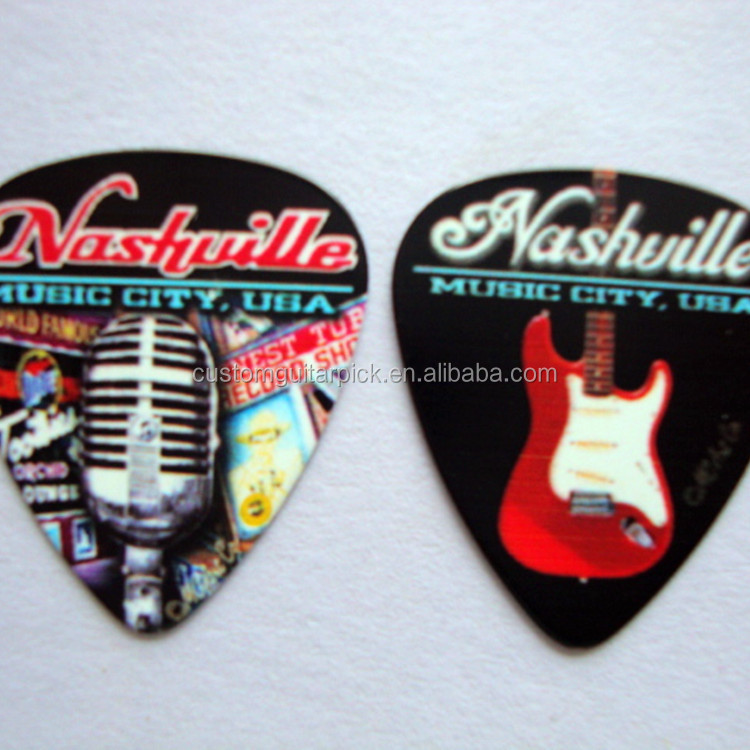 Custom rock band guitar pick DIY design guitar pick personality guitar picks