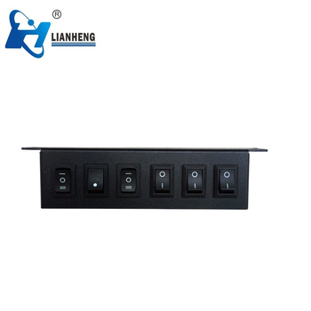 Controller box of warning lights light bar, switch box