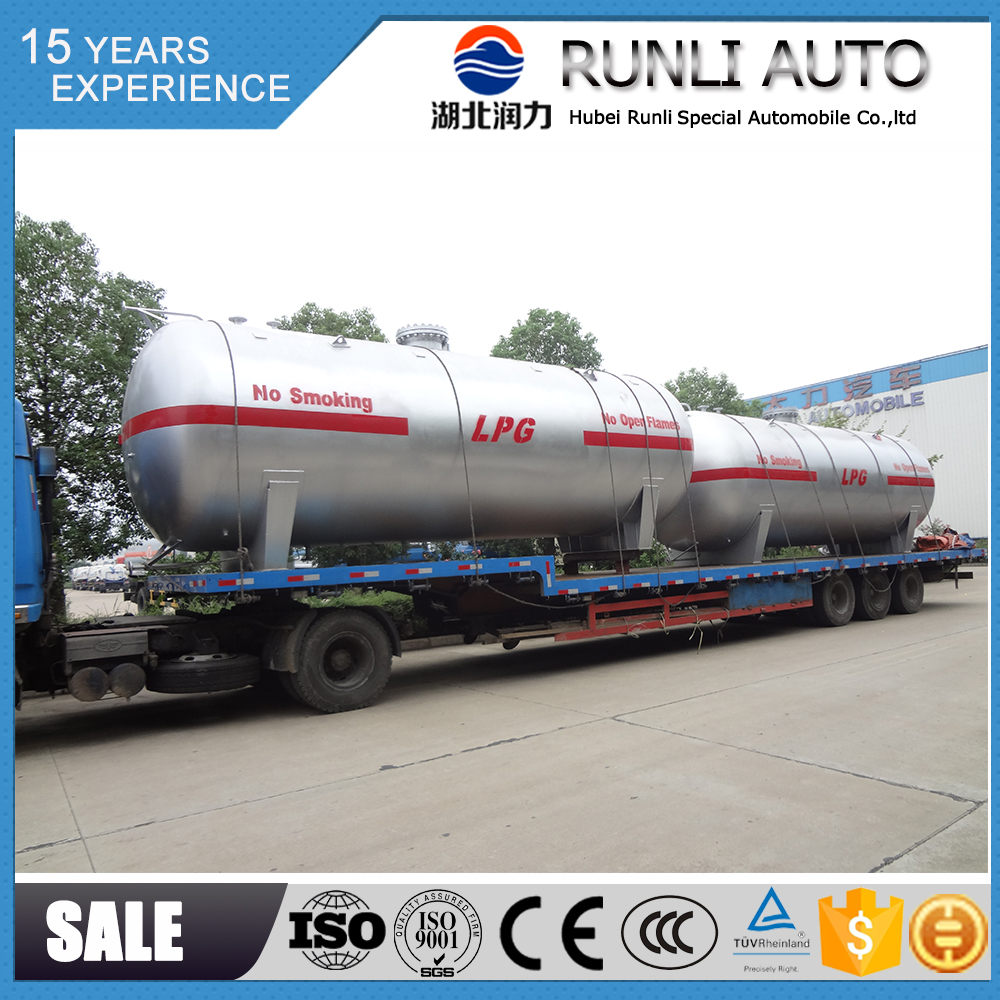 Factory price 120 CBM lpg storage pressure vessel price