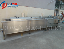 Mesh Belt Type Blanching Machine For Meat Product Food Sterilization Machine