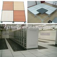 antistatic steel cementitious raised floor/steel panel/access floor/hpl,vinyl,pvc,ceramic tiles