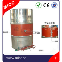 MICC 50L Oil Drum Silicone Rubber Coil Heater