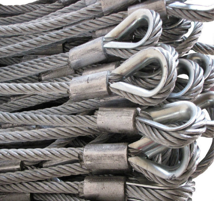 Competitive price of wire rope socket size custom-made