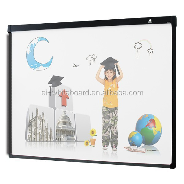 School supplies Interactive learning Projection screen with whiteboard wheels