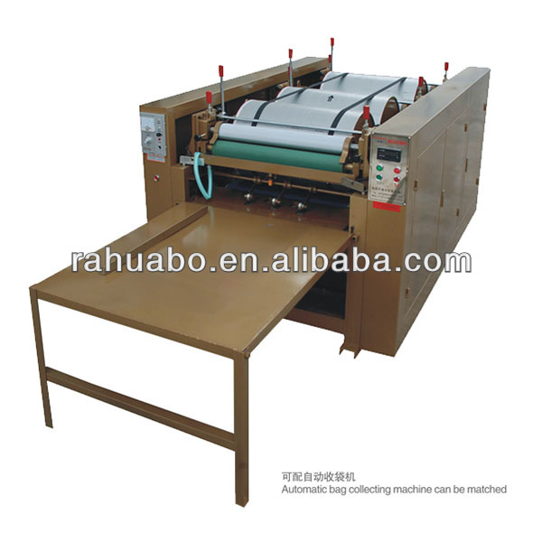 Small flexo printing machine