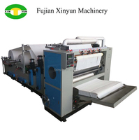 Embossing Laminating Printing Automatic N Fold Hand Towel Paper Machinery