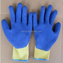 JIE'ERHUI latex coated non slip gloves
