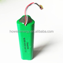 RC Helicopter battery C 4200mAh 7.2V 6 cells rechargeable NiMH battery pack from China factory