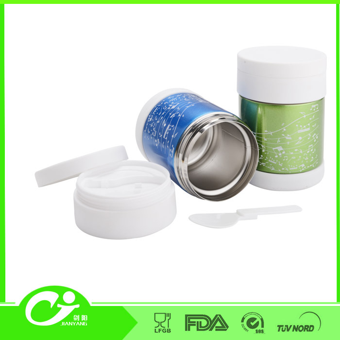 high quality 200ML custmized ECO-friendly SS and plastic clay jar