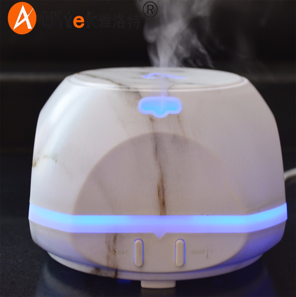 Home decoration aroma diffuser air purifier USB aromatherapy diffuser white stone 150ml Ultrasonic Humidifier Air Mist Maker