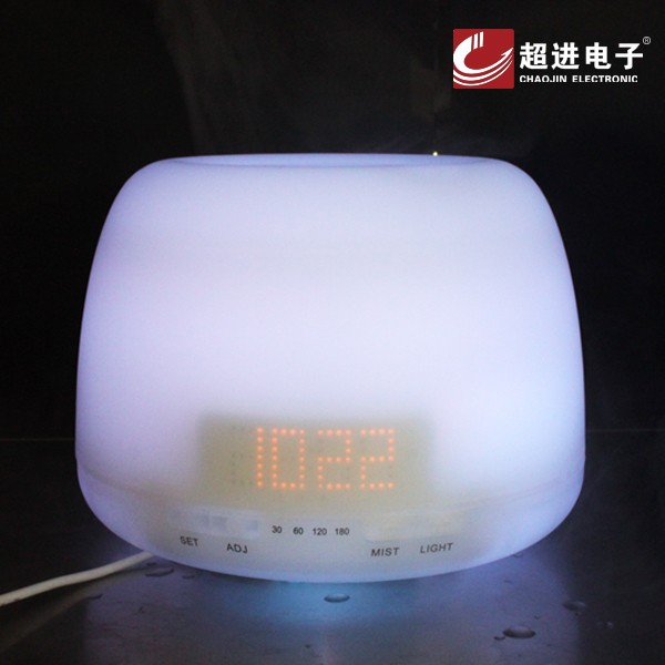 400ml Changed color Ultrasonic Aroma Essential aromatherapie essential oil with alarm