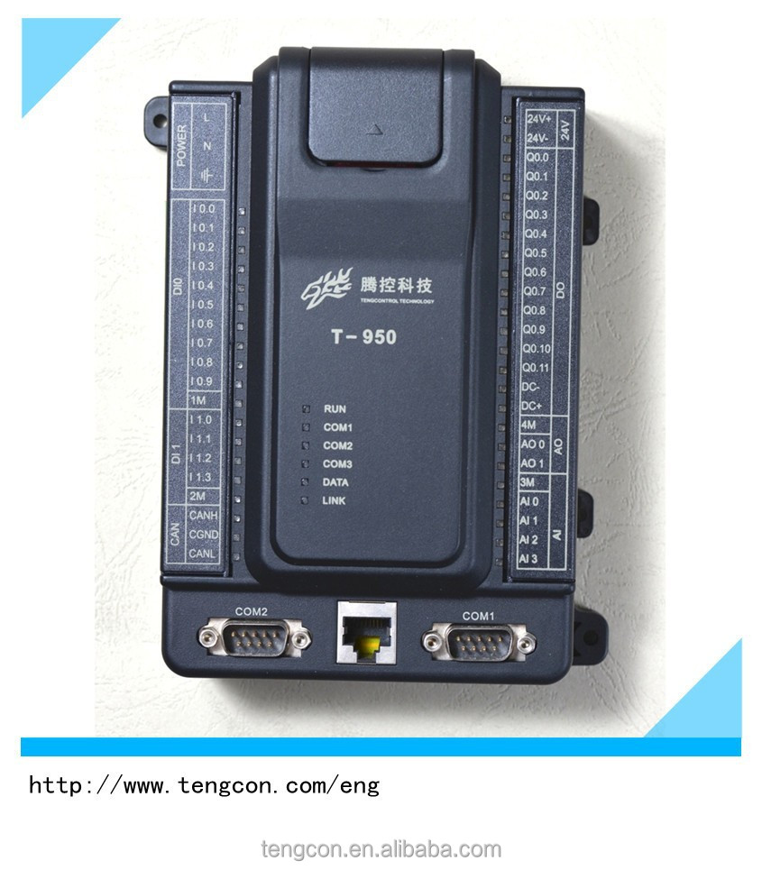 Wide temperature TENGCON T-950 Analog and Digital micro controller with High Speed Pulse Output