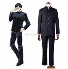 Sakamoto Desu ga? Sakamoto Cosplay Costume Class 3 Grade 2 Black Uniform Japanese School Boys' Uniform Halloween Costume for Men