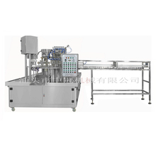 Automatic doypack stand up pouch filling sealing nitrogen packing machine with cip cleaning system for juice milk with denata