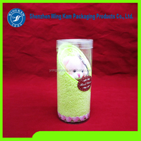 Sleeping beauty puppets lovely packed tube plastic cylinder packaging alibaba