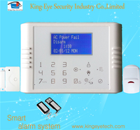 Hot sale 30 zones dual network wireless intelligent home security battery alarm system