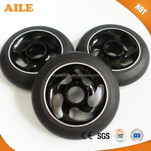 High Rebound 100mm Pu Tyre Metal Core Kick Scooter Wheels