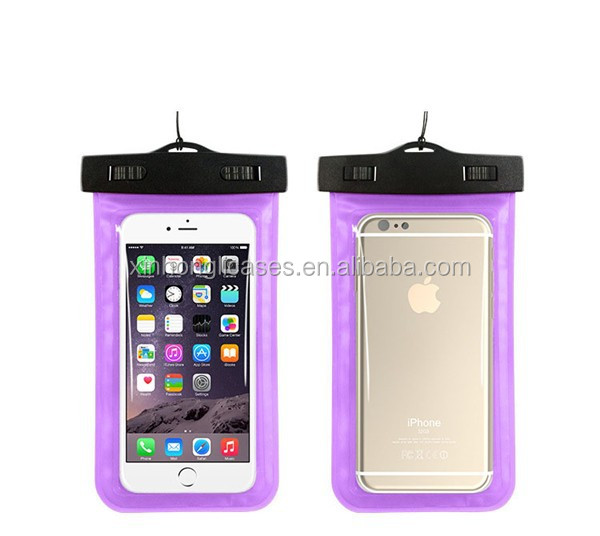 cheap pvc waterproof bag, PVC waterproof phone bag, waterproof bag cover for smartphone