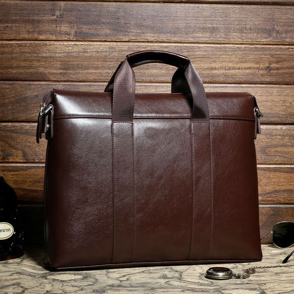 men branded leather cheap office bags