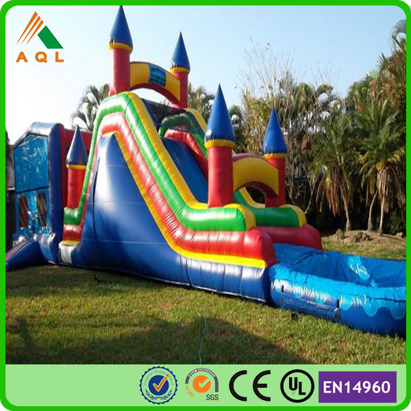 Funny outdoor entertainment used commercial inflatable bouncers for sale