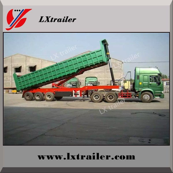 High quality widely used dump truck/tipper trailer for transportation