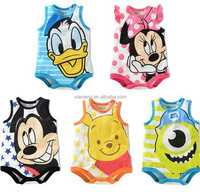 new design cartoon organic adult baby clothes hot sale
