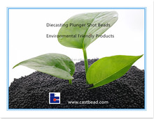 Plunger Lubricant Granule Black Shot beads for Cold Chamber Diecasting