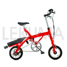 2017 Innovative mini vertical folding electric bicycle