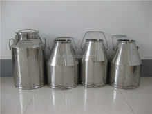 50L stainless steel milk bucket &milk container stainless steel bucket 20l 15lb