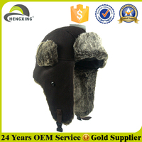 Cheap warm winter earflap hat made in china