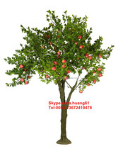 SJH121432 artificial fruit trees indian fruit trees evergreen fruit trees
