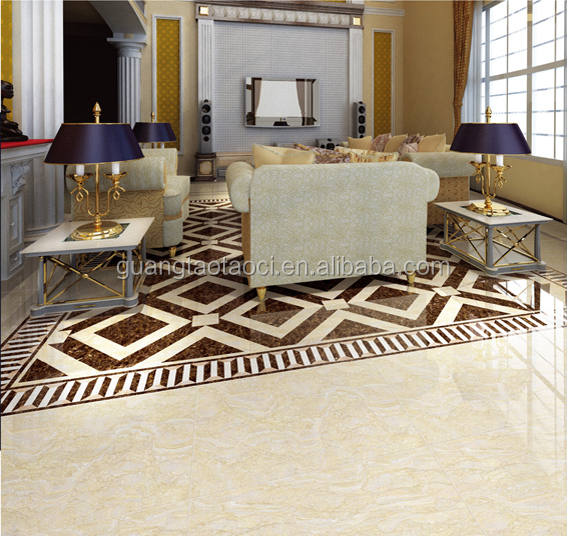 low cost factory with good quality cheap floor tiles 800*800*10mm & living rooms interior floor tile design