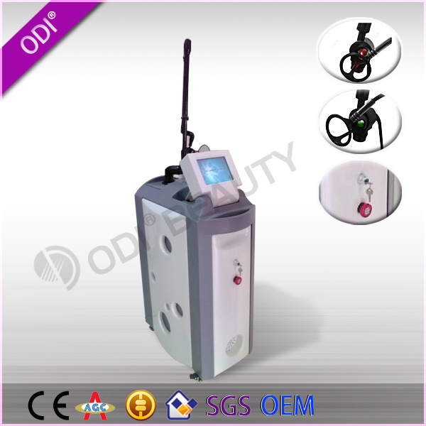 C600 Google!! 2015 CE stretch marks removal scar removal beauty machine fractional co2 laser